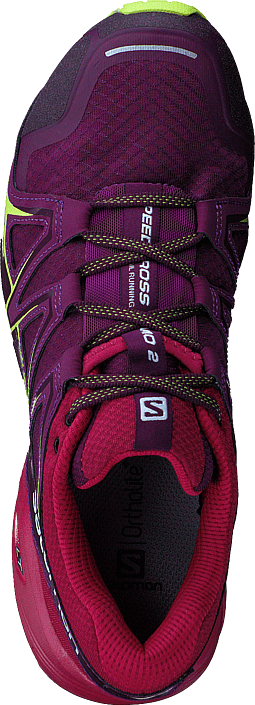 Salomon - Speedcross Vario 2 W Darkpurpl/Cerise/Acid Lime