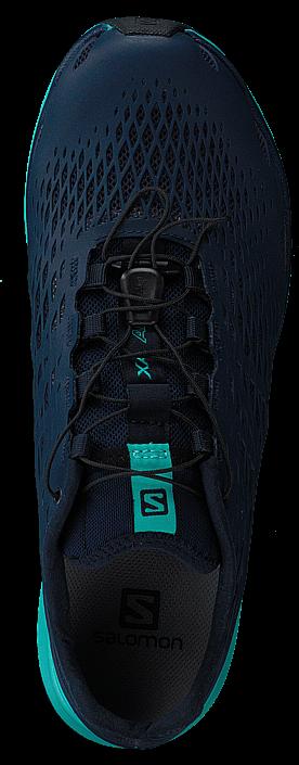 Salomon XA Amphib Shoes Women Night Sky/Medieval Blue/Ceramic UK 5 QZkNhm4