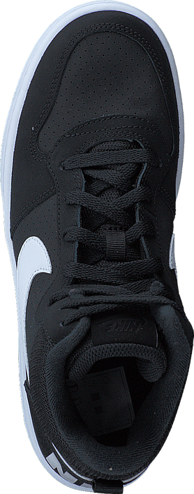 Nike - Court Borough Mid Gs Black/white