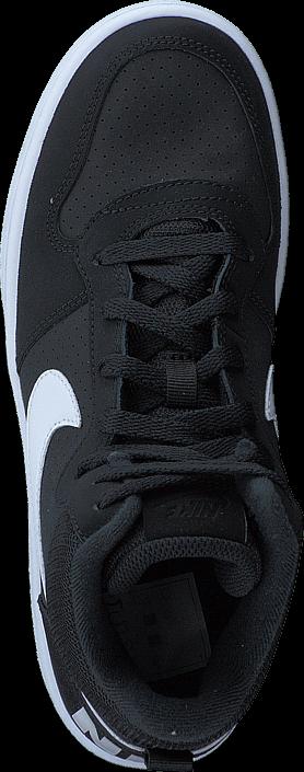 Nike Court Borough Mid Gs Black/white