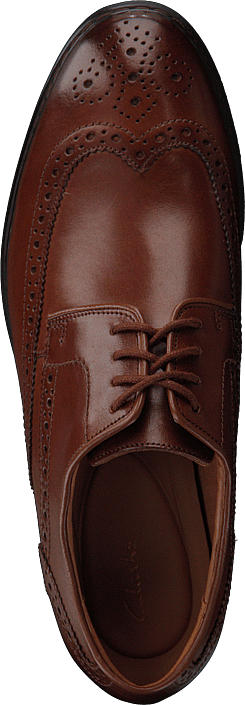Clarks - Barnbury Limit British Tan Lea