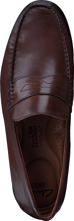 Clarks Claude Lane Brown Leather