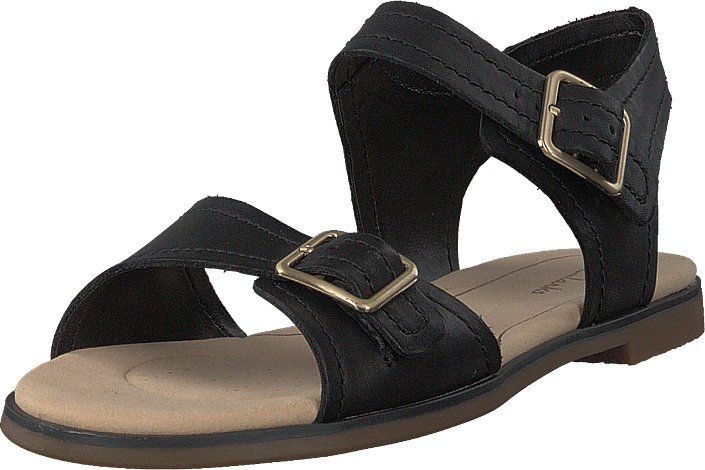 Clarks - Bay Primrose Black Leather
