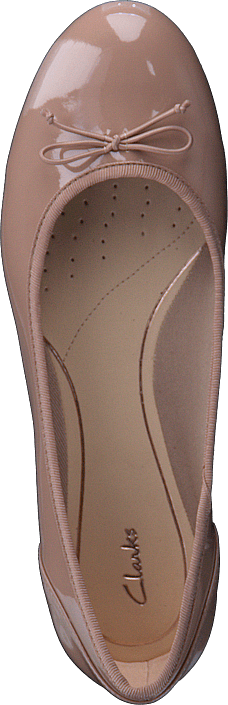 Clarks - Couture Bloom Nude Patent