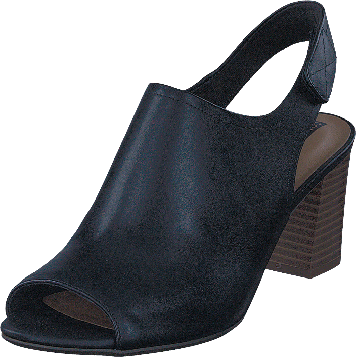 Clarks - Deva Jayleen Black Leather