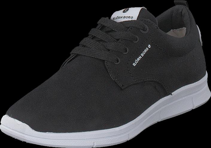 Footway SE - Björn Borg X200 Low Cvs W Black, Skor, Sneakers & Sportskor, Sneakers, Svart, Da 497.00