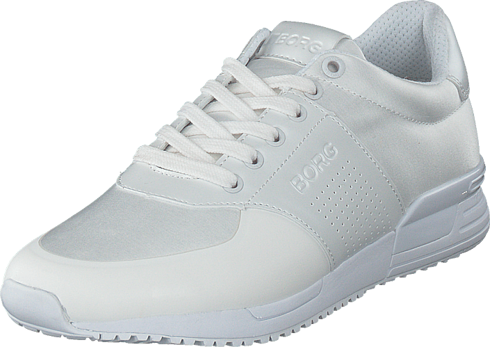 white Bjorn Borg shoe LOW SAT To6sb