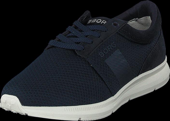 Björn Borg R500 Low Msh M Navy, Skor, Sneakers & Sportskor, Walkingskor, Blå, Herr, 46