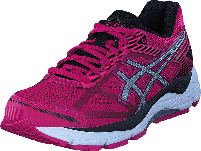 Asics - Gel-foundation 12 Pink Peacock/silver/black