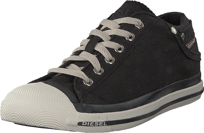 Footway SE - Diesel Exposure Low Black, Skor, Sneakers & Sportskor, Låga sneakers, Svart, Her 747.00