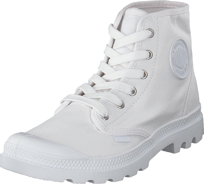Palladium - Pama Hi Men White/Ds