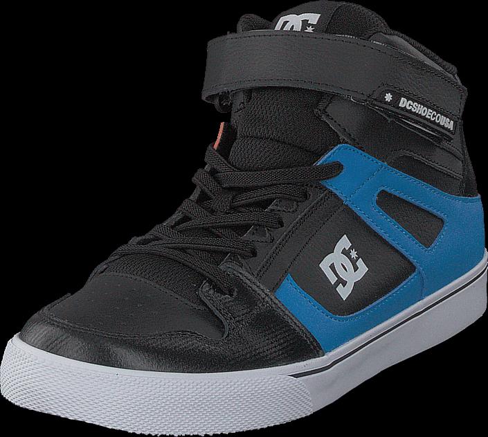 DC Shoes - Pure High-top Se Ev Black/Red/Blue