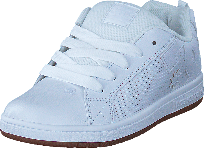 DC Shoes - Court Graffik White/White/Gum