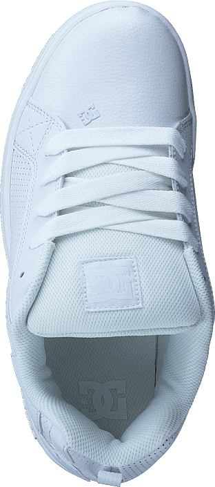 DC Shoes Court Graffik White/White/Gum