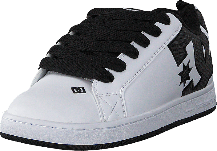 DC Shoes - Court Graffik Se Black/White/White