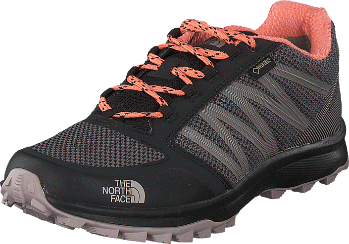 The North Face W Litewave Fp Gtx Phantomgry/desertflowrorg, Skor, Sneakers & Sportskor, Sneakers, Grå, Dam, 36