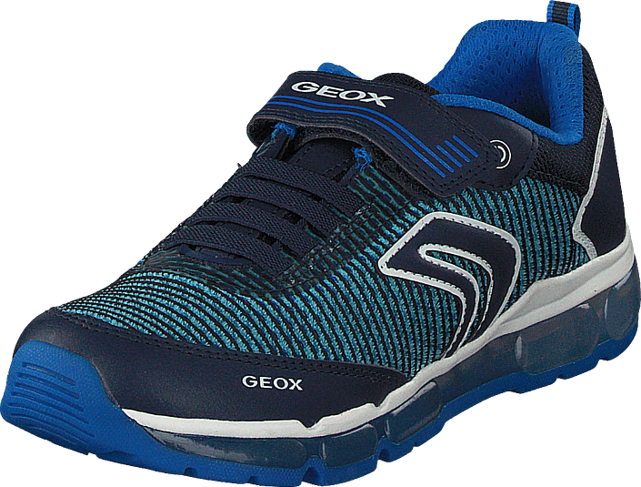 Geox - J Android Navy/lt Blue