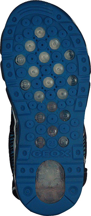Geox - J Sandal Android Navy/lt Blue