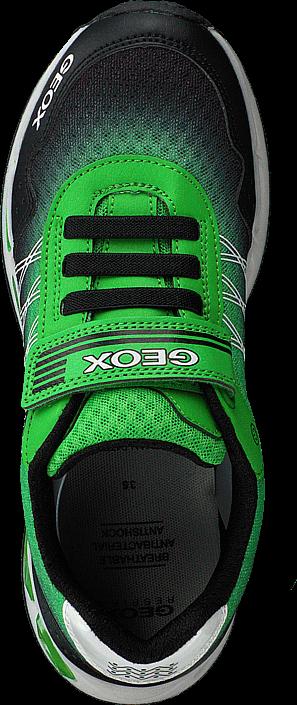 Geox - J Shuttle Black/green