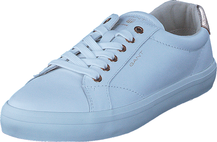 Footway SE - Gant Mary Bright Wht/rose Gold, Skor, Sneakers & Sportskor, Låga sneakers, Blå,  1147.00