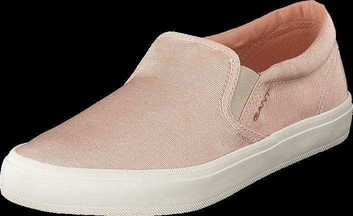 Footway SE - Gant Zoe Slip-on Shoes Silver Pink, Skor, Lågskor, Slip on, Brun, Dam, 39 697.00