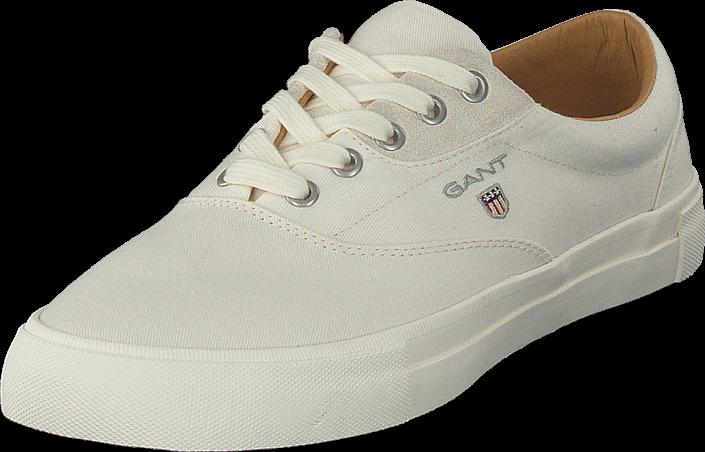 Gant Hero Off White, Sko, Lave sko, Loafers, Hvit, Herre, 41
