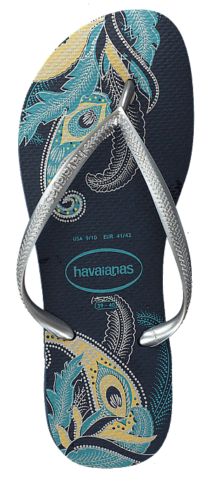 Havaianas - Slim Organic Navy/silver
