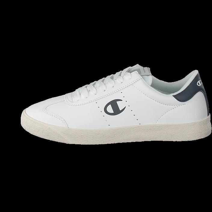 ed0f6f2ab7257 Kjøp Champion Low Cut Shoe Venice Pu White hvite Sko Online