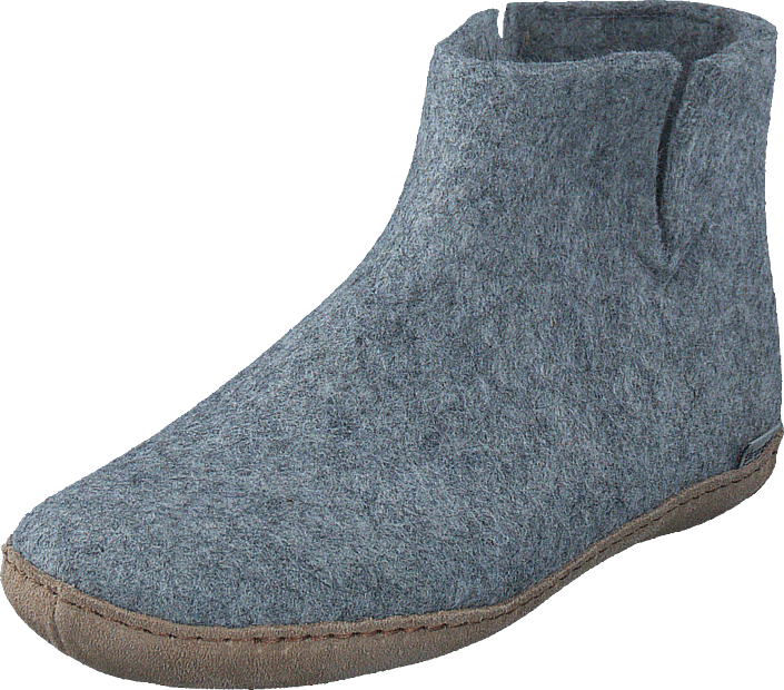Glerups Low Boot Grey