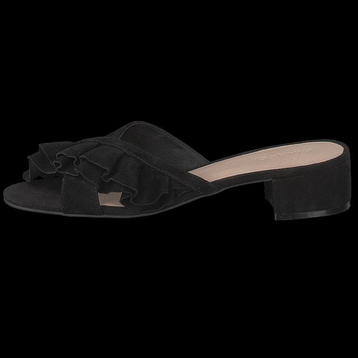 af2c9d0d5 Køb Bianco Slip In Sandal Black sorte Sko Online