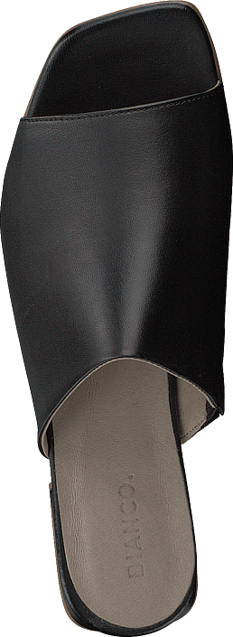 Bianco - Flat Dress Mule Black