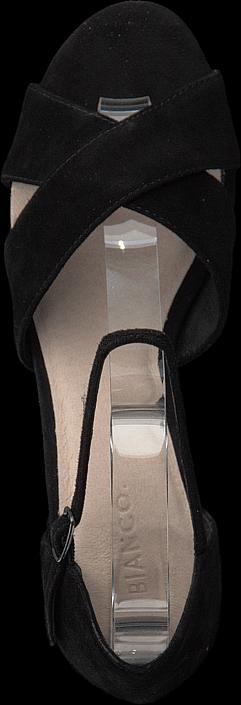 Bianco - Front Cross Sandal Black