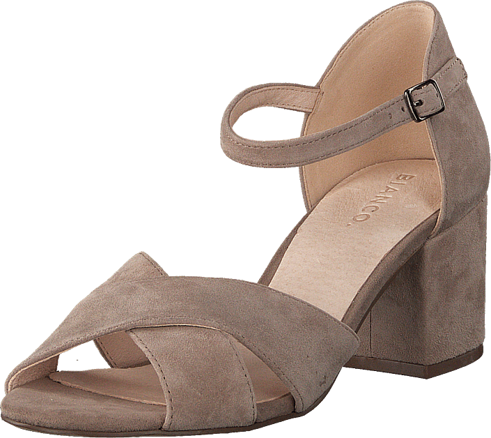 Bianco FRONT CROSS - Sandals - nougat rRGFh
