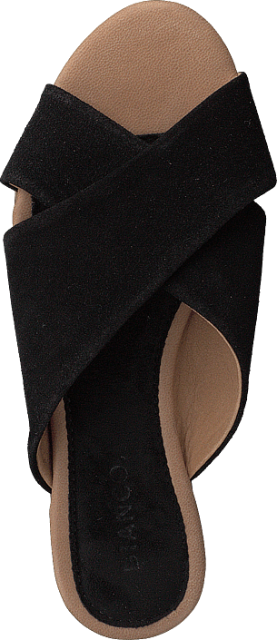 Bianco - Cross Slipper Black