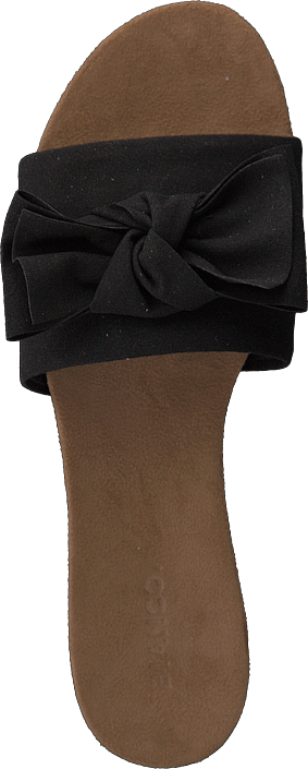 Bianco - Cute Bow Slipper Black