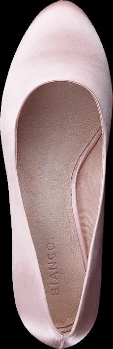 Bianco - Blok Heel Pump Powder