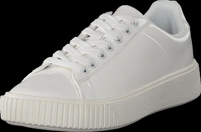 2e63fd51116 Bianco Laced Up Sneaker White, Skor, Sneakers & Sportskor, Löparskor, Vit,  Dam, 36
