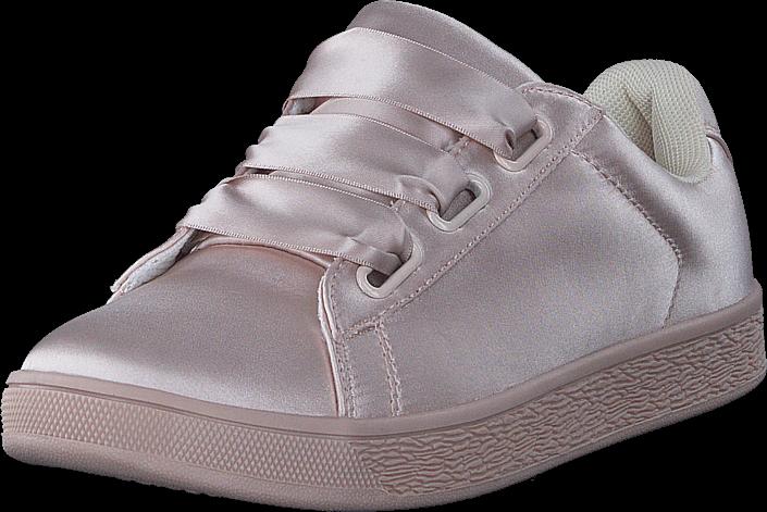 Bianco Satin Sneaker Powder