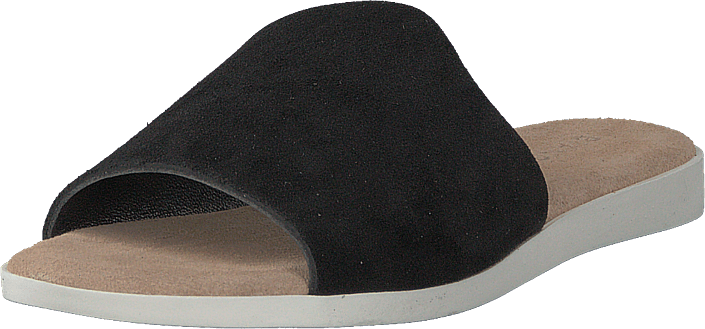 Bianco - Suede Slipper Black