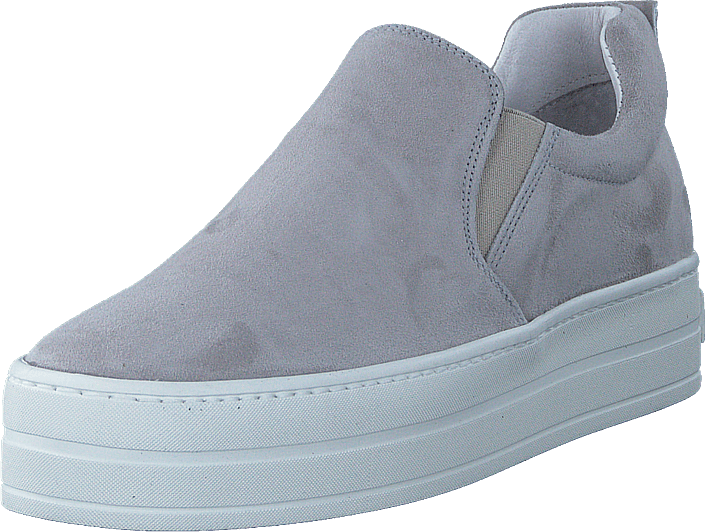 A Pair - V03 Light Grey Suede