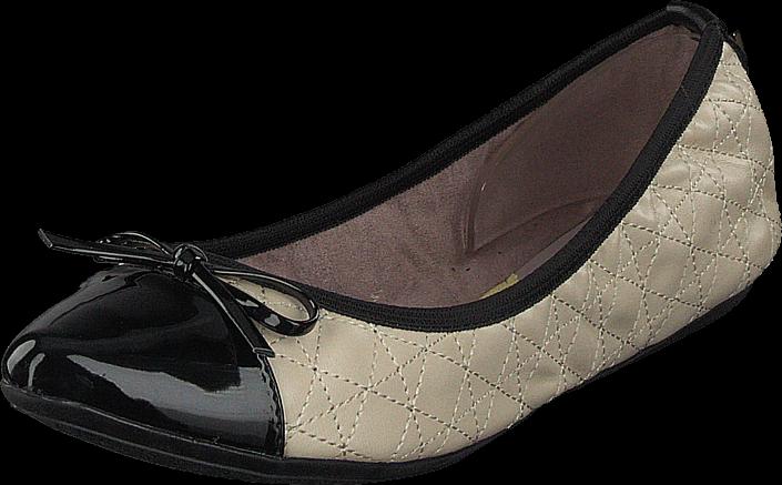 Footway SE - Butterfly Twists Holly Beige/black, Skor, Lågskor, Ballerinor, Brun, Beige, Dam, 547.00