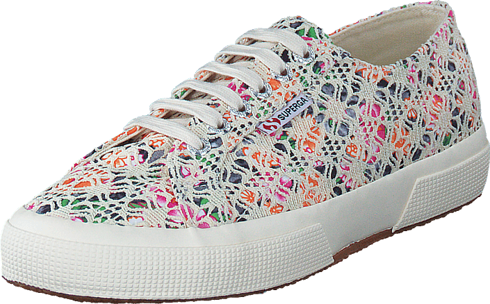 Superga - Lace Flower Sw Multicolor Beige