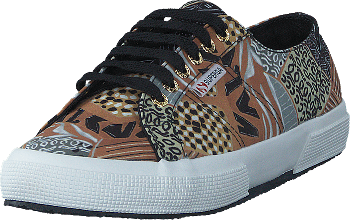 Superga Fabricfanplw Ethnic Brown-black