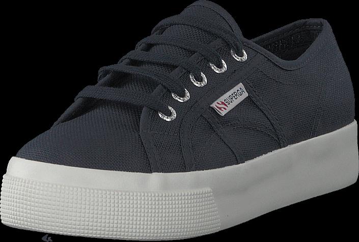Footway SE - Superga 2730-cotu Navy-fwhite, Skor, Sneakers & Sportskor, Sneakers, Grå, Dam, 3 747.00