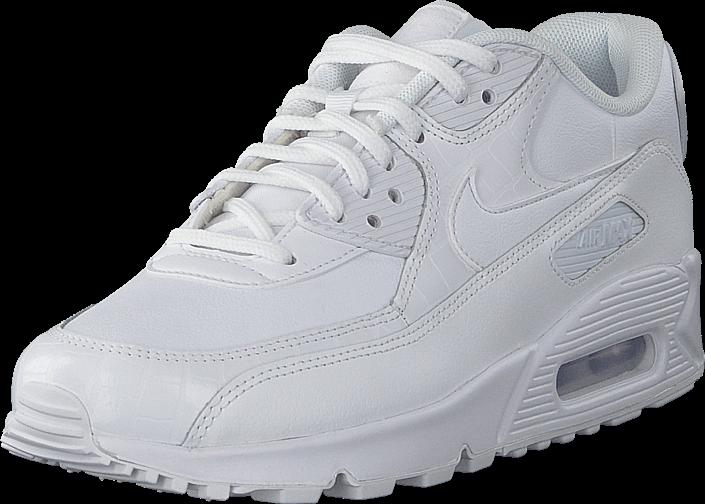 Nike - Air Max 90 Shoe White/white-white