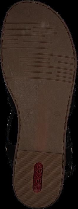 Rieker - 64255-00 Schwarz