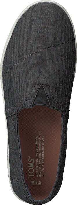 Toms - Avalon Black Chambray