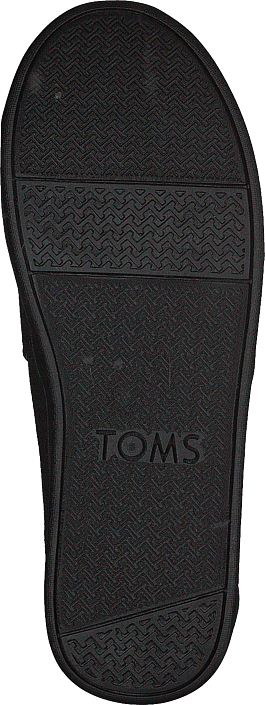Toms - Alpargata Youth Black Canvas