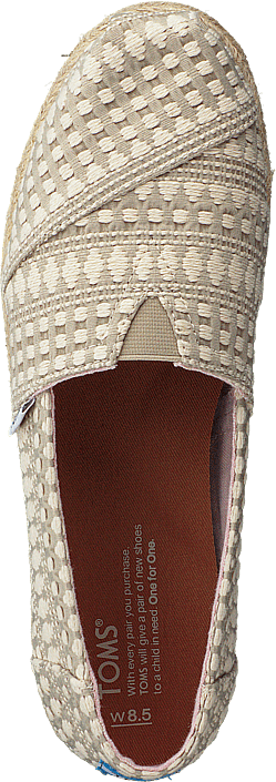 Toms - Alpargata Oxford Tan Diamond Tribal Rope
