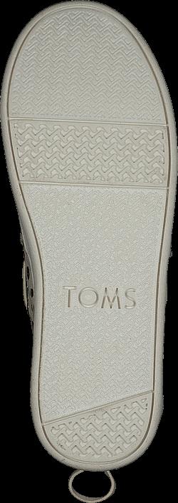 Toms - Bimini Youth Rose Gold Dots